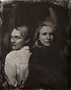 Diane Kruger and Britt Marling by Victoria Will