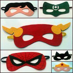 Máscaras em feltro