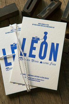 Birth Announcement / Léon