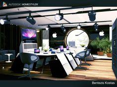 Sehen Sie sich mein #Innendesign 'New Office Apple Design by C