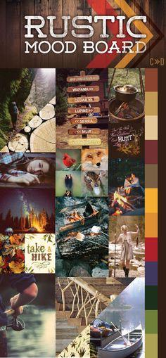 Rustic Mood board via CreativelyDriven.com >> http://www.creatively-driven.com/mood-board-rustic