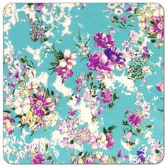 Buy PUL fabric in Sweet Summer Floral print by the yard or cut. Make cloth diapers, snack bags, and more! Made in the USA. Waterproof, breathable, food safe, CPSIA compliant.