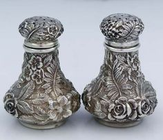 Repousse Salt and Pepper Set