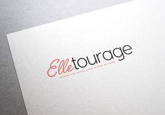 Brand Development, Logo Design for Elletourage, Women's Social Network site