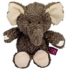 Lekker knuffelen met deze heerlijk zachte olifant Max! Max is circa 23 cm hoog.Artikelgroep: Speelgoed / Knuffels
