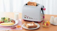 Hello Kitty toaster, get it at Rakuten Global Market!