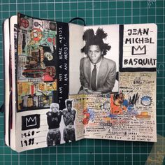 January 2015 - Basquiat inspiration page