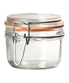 Love this 7.5-Oz. Italian Hinged-Lid Jar - Set of Six on #zulily! #zulilyfinds