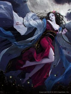 As impressionantes ilustrações de fantasia e ficção científica para card games de Pyeongjun Park