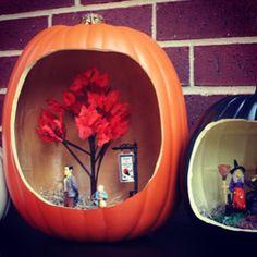 .@Michaels Stores (Michaels Stores) 's Instagram photo Diorama Pumpkins