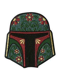 Star Wars Boba Fett Iron-On Patch,