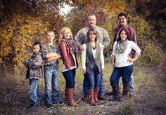 Camo family photo. Alex chose camo for our next family photos