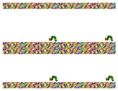DIY Design Den: Free Very Hungry Caterpillar Party Printables - I found the book font, so we can make our own! Very Hungry Caterpillar Printables, Hungry Caterpillar Games, Activities For Autistic Children, Preschool Activities, Straw Decorations, Cupcake Toppers Free, Twins 1st Birthdays, Chenille, Party Themes