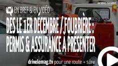 #VIDÉOBRÈVE #Fourrière : #permisdeconduire et #assurance: Permis de conduire et certificat d'assurance nécessaires… pour + d'infos/vidéo