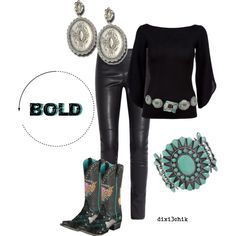 A fashion look from February 2013 featuring Ralph Lauren Black Label blouses, Joseph leggings and Ariat boots. Browse and shop related looks.