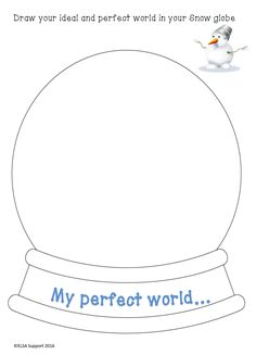 Your world in a Snow globe - Elsa Support