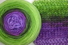 Crocus - fresh spring green and violet