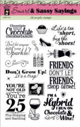 Smart and Sassy Sayings Stamp Set by Hot Off The Press Inc (4101131)