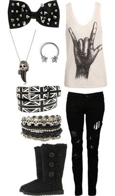 """""""Cowboys From Hell"""" by priceless-and-dashing-fo-rev-er ❤ liked on Polyvore"""