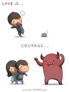 HJ-STORY.com - El amor es valentía