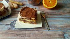 Czekoladowo-pomarańczowe tiramisu to moja propozycja na ten klasyczny włoski deser. Dwie warstwy biszkoptów nasączonych kawą przełożone kremem kakaowym i kremem pomarańczowym. Tiramisu, Ethnic Recipes, Food, Essen, Meals, Tiramisu Cake, Yemek, Eten
