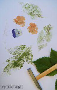Salzteig Ideen - Mobile selber basteln! Wir nutzen Blumen, um ein Mobile aus Salzteig selber zu basteln. Auch zum Basteln mit Kindern.