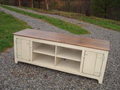 A personal favorite from my Etsy shop https://www.etsy.com/listing/183517453/primitive-media-center-rustic-tv-stand #tvstand #mediaconsole
