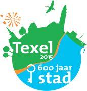 Logo Texel 600 jaar stad, leuke wetenswaardigheden van Texel op deze site...aanrader