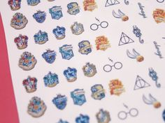 Hey, I found this really awesome Etsy listing at https://www.etsy.com/listing/217212749/harry-potter-crests-symbols-waterslide