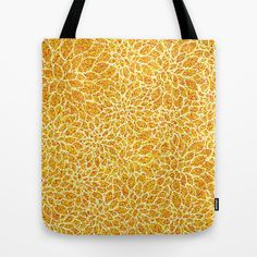 Buy Autumn Flowers ~ Gold by #Artsy #Craftery #Studio as a high quality Tote Bag. Worldwide shipping available at Society6.com. Just one of millions of products available.