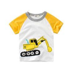 Toddler Baby Boys Bodysuit Short-Sleeve Onesie Parkour Print Rompers Winter Pajamas