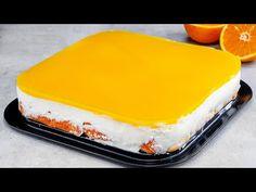 Cu usurinta si rapiditate, FARA COACERE, vei face cel mai racoritor si cremos tort de portocale! - YouTube