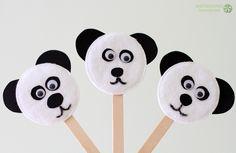 dzień pluszowego misia miś panda kukiełka