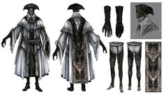Choir Attire from Bloodborne
