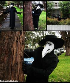 .:Plague Doctor Costume:. by heilei on deviantART