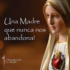 Resultado De Imagen Para Virgen De Fatima Frases Con Imagenes