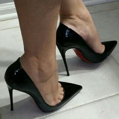 Christian Louboutin So Kate 120mm So Kate. AUTHENTIC, box, dust cover, extra heel caps included.  Proof of receipt if asked to provide. In Excellent condition, the bottom was Rubberized by a  Neiman Marcus cobbler. Will except lower on  Christian Louboutin Shoes Heels