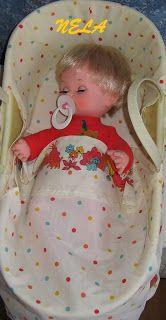 LES NINES DE NELA: BABY MOCOSETE DE TOYSE Kawaii Doll, Vintage Dolls, Nostalgia, Toys, Children, Activity Toys, Baby Dolls, Childhood Memories, Sew