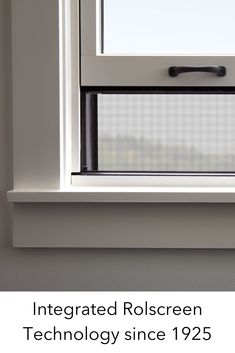 Innovating quality products is something we've been passionate about since 1925, when we opened our doors with the patented casement window Rolscreen retractable screen. A revolutionary product that we still offer – and we're building on that legacy. #Pella #Windows #Screen #Rolscreen #WindowTechnology #PellaWindows