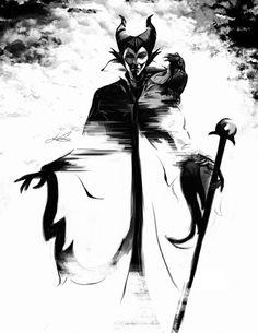 Maleficent by WRON-G.deviantart.com on @deviantART