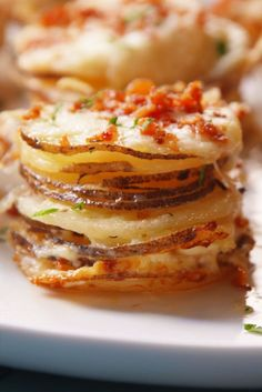 Potato Gratin Stacks  - Delish.com