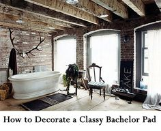 How to Decorate a Classy Bachelor Pad