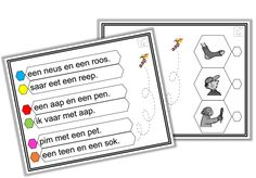 Lezen met zoem - kern 2 Speech Language Therapy, Speech And Language, First Grade, Grade 1, Daily Five, Spelling, Classroom, Letters, Teaching