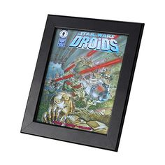 Star Wars Comics Framed Genuine Postcard Droids 6 C3PO R2D2 Gift Frame ** See this great product.