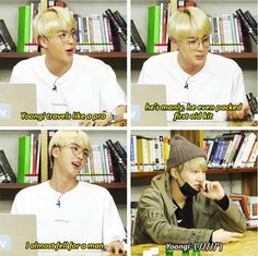 As if Yoongi would reject Jin. Pft.