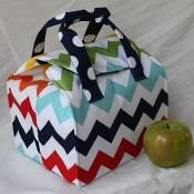 The Peas And Corn Lunch Bag Pdf Sewing Tutorial Sewing