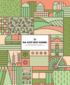 Le Monde — Illustrated dossier by LA TIGRE, via Behance