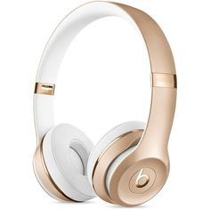 Beats Solo3 Wireless On-Ear Headphones Rose Gold (2.190 HRK) ❤ liked on Polyvore featuring accessories