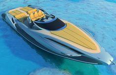 Tender Capri 13m Boat by Alessandro Pannone Architec