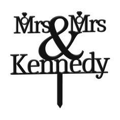 Mrs & Mrs Rings Personalised